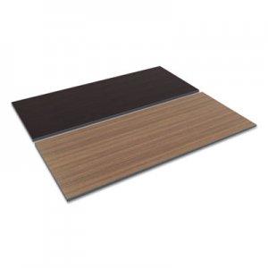 Alera Reversible Laminate Table Top, Rectangular, 71 1/2w x 29 1/2d, Espresso/Walnut ALETT7230EW