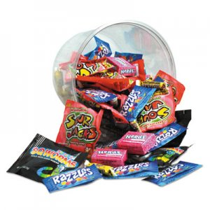 Office Snax Candy Tubs, Generations Mix, Individually Wrapped, 16 oz Resealable Plastic Tub OFX00067 00067
