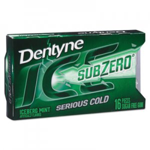 Dentyne Ice Sugarless Gum, Iceberg Mint, 16 Pieces/Pack, 9 Packs/Box CDB00868 00 12546 00868 00