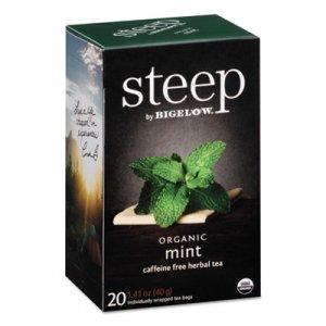 Bigelow steep Tea, Mint, 1.41 oz Tea Bag, 20/Box BTC17709 RCB17709