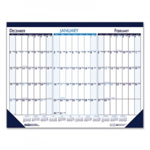 House of Doolittle Three Month Desk Pad Calendar, 22 x 17, 2019-2021 HOD136 136