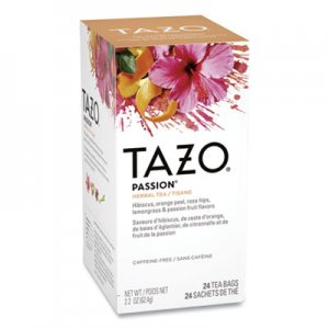 Tazo Tea Bags, Passion, 2.1 oz, 24/Box TZO149903 TJL20040