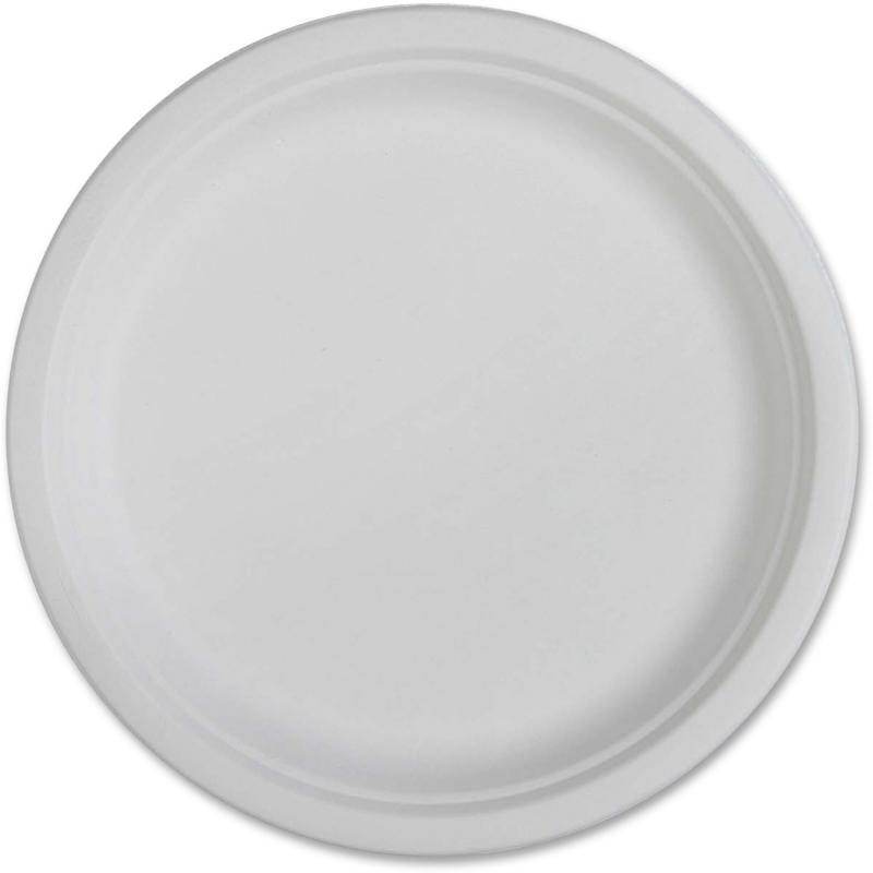 Genuine Joe Compostable Plates 10218CT GJO10218CT