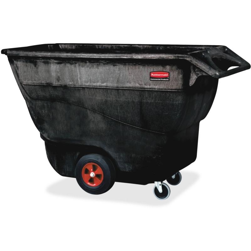 Rubbermaid Commercial Struct. Foam Std. Duty Tilt Truck 9T1500BK RCP9T1500BK