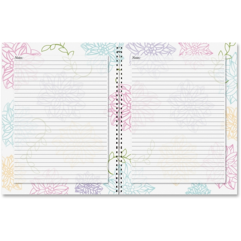 House of Doolittle Whimsical Floral Doodle Notebook 78097 HOD78097