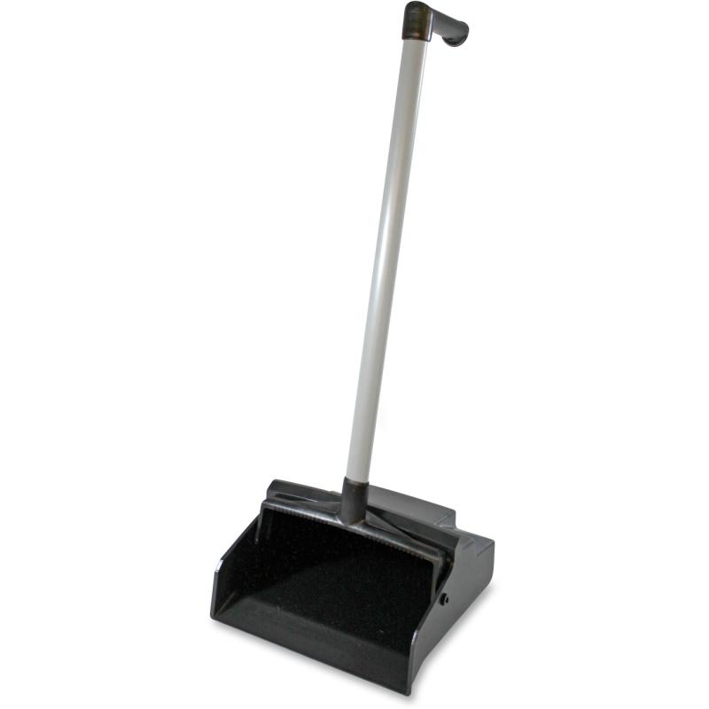 Genuine Joe L-Grip Plastic Lobby Dust Pan 85147CT GJO85147CT