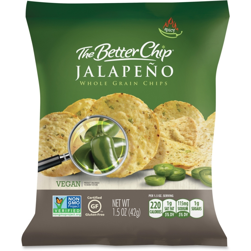 Better Chip Jalapeno Chips 56097 SUG56097