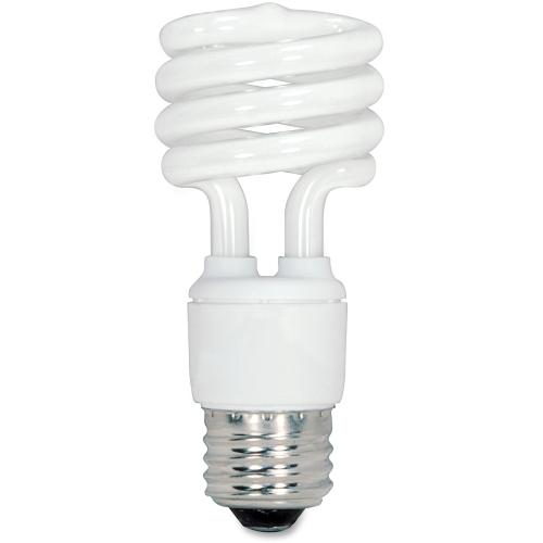 Satco 13-watt Fluorescent T2 Spiral CFL Bulb S6235CT SDNS6235CT