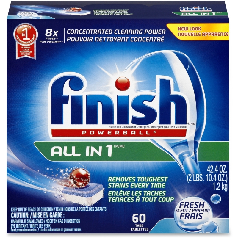 Finish All-in-1 Dishwasher Tabs 81158CT RAC81158CT