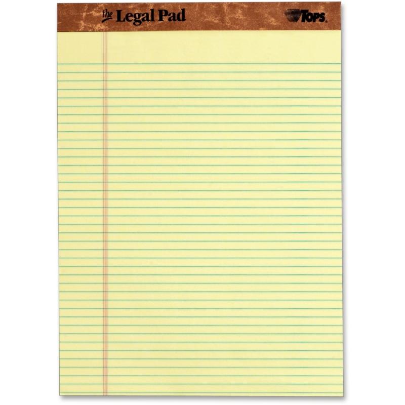 TOPS The Legal Pad Pad 75370 TOP75370