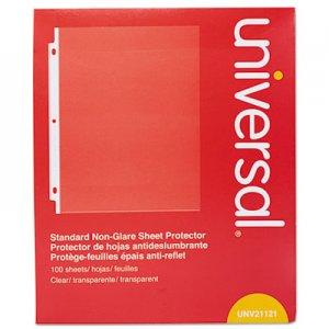 Genpak Standard Sheet Protector, Standard, 8 1/2 x 11, Clear, 100/Box UNV21121