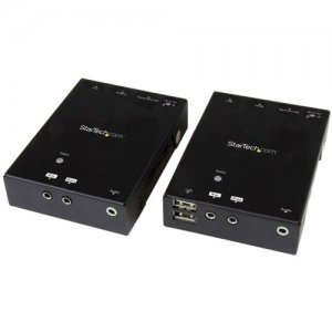StarTech.com HDMI over CAT5 HDBaseT Extender with USB Hub - 295 ft (90m) - Up to 4K ST121HDBTU