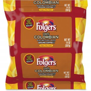 Folgers Colombian Ground Coffee Filter Packs 10107