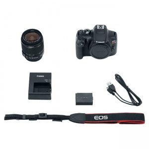 Canon EOS Digital SLR Camera with Lens 1159C003 Rebel T6