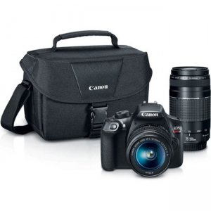 Canon EOS Digital SLR Camera with Lens 1159C008 Rebel T6