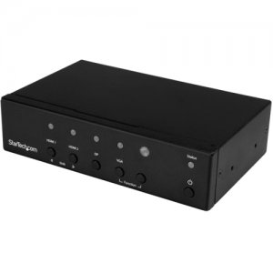 StarTech.com Multi-input to HDMI Automatic Switch and Converter - 4K HDVGADP2HD