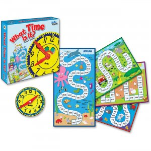 Carson-Dellosa What Time Is It Board Game 140314 CDP140314