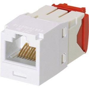 Panduit Mini-Com UTP Cat.5e Network Connector CJ5E88TGWH-24
