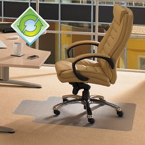 Ecotex Evolutionmat Chair Mat for Standard-pile Carpets ECO114851LP FLRECO114851LP