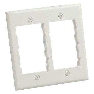 Panduit Mini-Com 2 Socket Double Gang Faceplate CBEI-2G