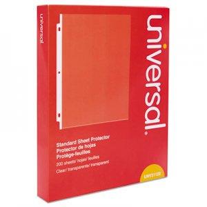 Genpak Standard Sheet Protector, Standard, 8 1/2 x 11, Clear, 200/Box UNV21122
