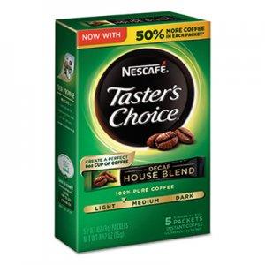 Nescafe Taster's Choice Decaf House Blend Instant Coffee, 0.1oz Stick, 5/Box, 12 Bx/Ctn NES86073 86073