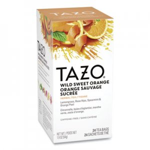 Tazo Tea Bags, Wild Sweet Orange, 24/Box TZO151598 TJL20030