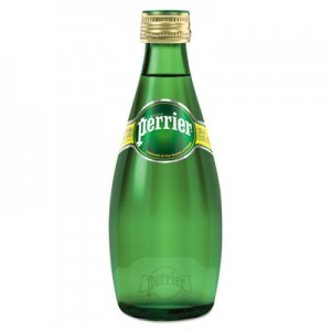 Perrier Sparkling Natural Mineral Water, 11 oz Bottle, 24/Carton NLE00410 NLE 00410