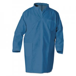 KleenGuard A20 Breathable Particle Protection Professional Jacket, Large, Blue, 15/Carton KCC23873 23873