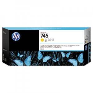 HP 745 (F9K02A) Yellow Original Ink Cartridge HEWF9K02A F9K02A