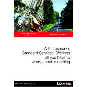Lexmark LexExpress Advanced Exchange 1Year - Next Business Day - Exchange - Electronic and Physical Service 2348011