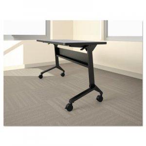 Safco Flip-n-Go Table Base, 70 1/2w x 21 1/4d x 27 7/8h, Black MLNLF72S5 LF72S5