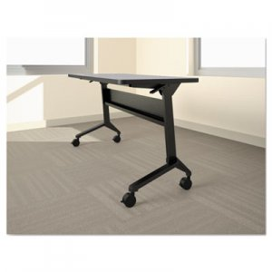 Safco Flip-n-Go Table Base, 46 7/8w x 21 1/4d x 27 7/8h, Black MLNLF48S5 LF48S5