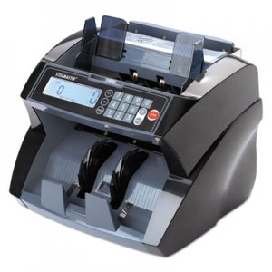 SteelMaster 4820 Bill Counter with Counterfeit Detection, 1900 Bills/Min, Black MMF2004850C8 2004850C8