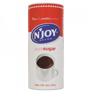 N'Joy Pure Sugar Cane, 20 oz Canister, 3/Pack NJO94205 NJO 94205