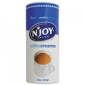 N'Joy Non-Dairy Coffee Creamer, Original, 12 oz Canister, 3/Pack NJO94255 NJO 94255
