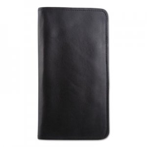 STEBCO Passport/Document Holder, Black, Leather, 4 3/4 x 9 BUGTAC1404BK TAC1404-BLACK