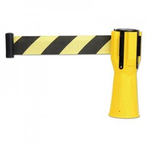 "Tatco Safety Cone Topper Belt, 3 1/2"" x 9 ft, Yellow/Black, Plastic/Nylon TCO25950 25950"