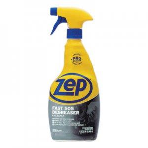 Zep Commercial Fast 505 Cleaner & Degreaser, Lemon Scent, 32 oz Spray Bottle ZPEZU50532EA ZU50532EA