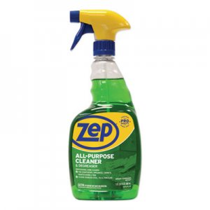 Zep Commercial All-Purpose Cleaner and Degreaser, 32 oz Spray Bottle ZPEZUALL32EA ZUALL32