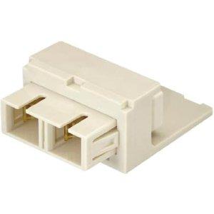 Panduit Mini-Com Duplex Fiber Optic Connector CMDEISCIW