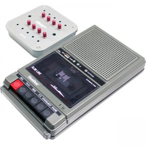 Hamilton Buhl Classroom Cassette Player and Recorder, 8 Position Jackbox HA802-8V