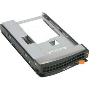 "Supermicro Black Gen 5.5 Tool-Less NVMe 3.5"" to 2.5"" Drive Tray MCP-220-00138-0B"