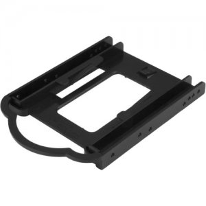 StarTech.com 2.5in SSD / HDD Mounting Bracket for 3.5-in. Drive Bay - Tool-less Installation BRACKET125PT