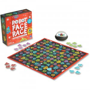 Educational Insights Robot Face Race Game 2889 EII2889