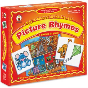Carson-Dellosa I Spy a Mouse in the House Matching Game 3111 CDP3111