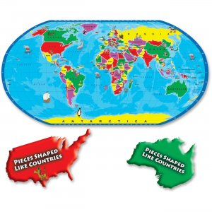 A Broader View 80-piece World Puzzle 152 ABW152