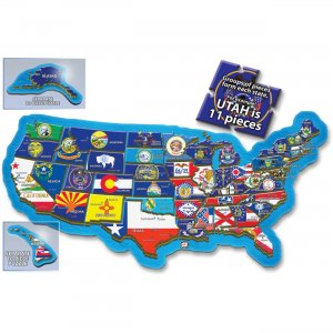 A Broader View 500-piece USA Puzzle 156 ABW156