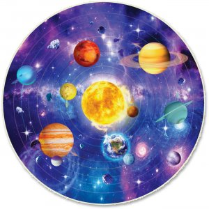 A Broader View 50-piece Kids Solar System Puzzle 157 ABW157