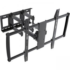 Ergotech X-Large Heavy-Duty Full-Motion Curved & Flat Panel TV Wall Mount LD60100-A